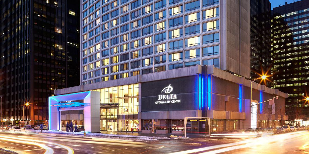 Delta Hotels by Marriott Ottawa City Centre Exterior