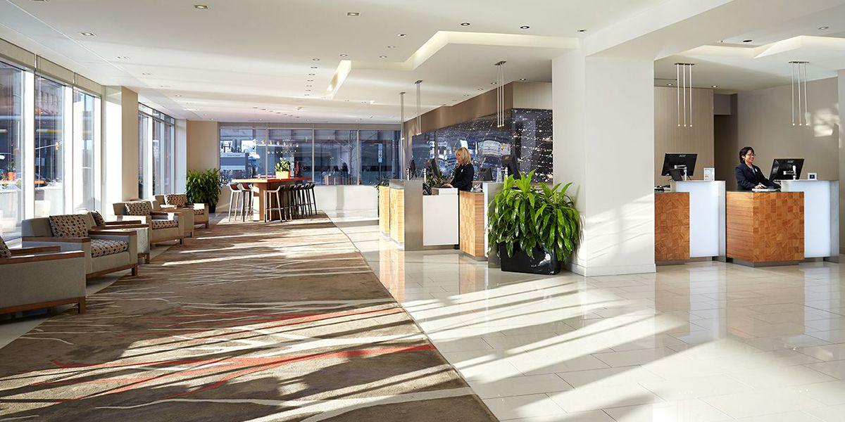 Delta Hotels by Marriott Ottawa City Centre lobby