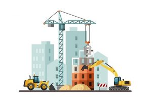 Construction Vector Graphic image
